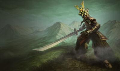 Master Yi SamuraiYiSkin old