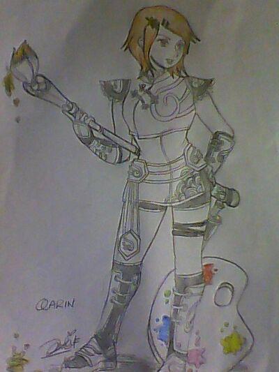 Qarin kawaii Painter Lux