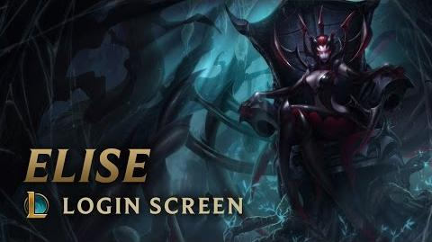 Elise, the Spider Queen - Login Screen