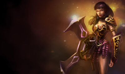 Sivir WarriorPrincessSkin old