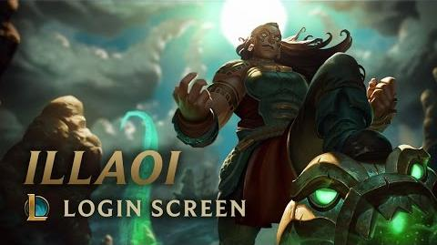 Illaoi, the Kraken Priestess - Login Screen