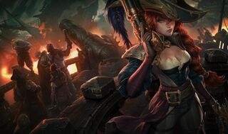 Miss Fortune CaptainSkin