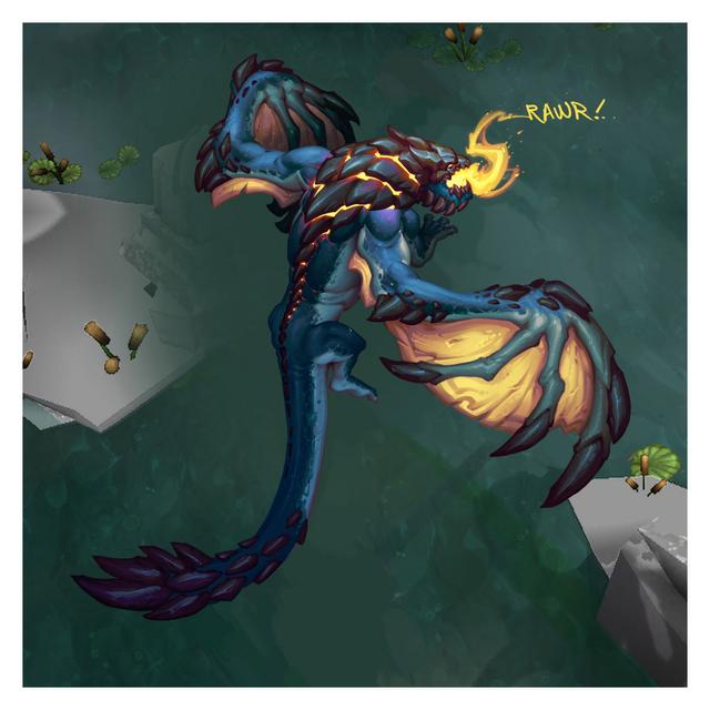 Summoner's Rift Update Creature Dragon Color