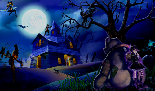 Sam 3010 HalloweenWallpaper
