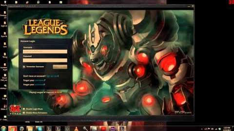 Battlecast Volibear - Login for - LoL (TRON fighting machine)