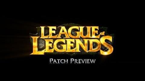 League of Legends - Draven Patch Preview