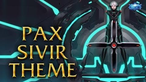LoL Login theme - Chinese - 2013 - Pax Sivir