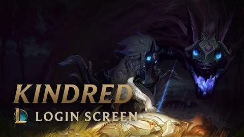 Kindred, the Eternal Hunters - Login Screen