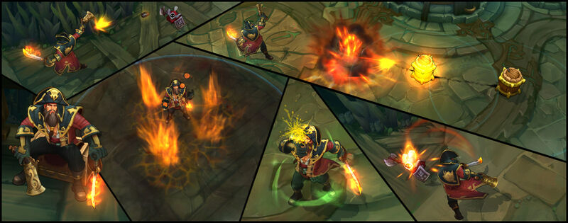 Gangplank Captain Screenshots
