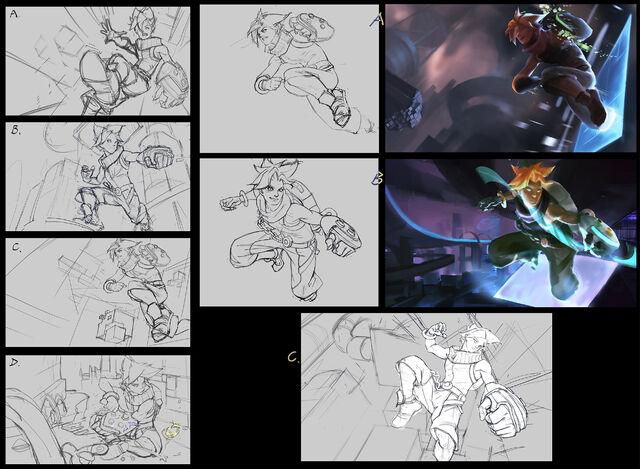 File:Ezreal Arcade splash concept 01.jpg