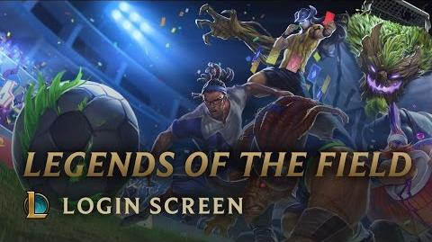 Legends of the Field - Login Screen