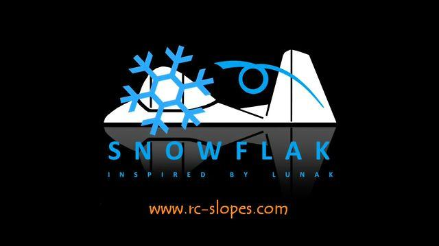 SNOWFLAK - I would like to mix a snowflake with a Lunak as RC-glider...