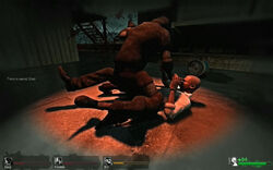 Left 4 dead hunter attack 02