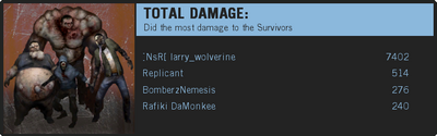 Infected Damage