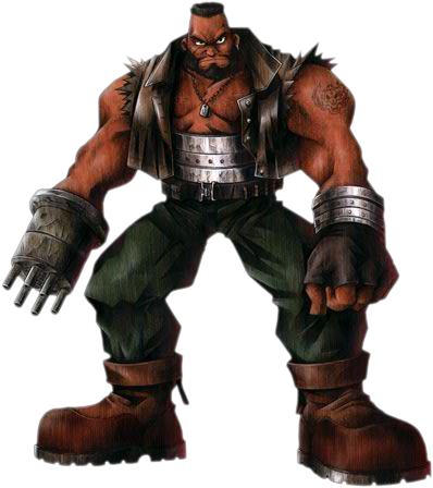 File:Barret-FFVIIArt.png