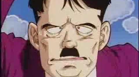 Goten and Trunks vs Hitler full fight