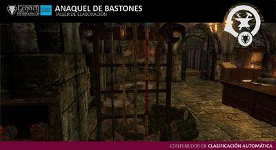 Anaquel de Bastones