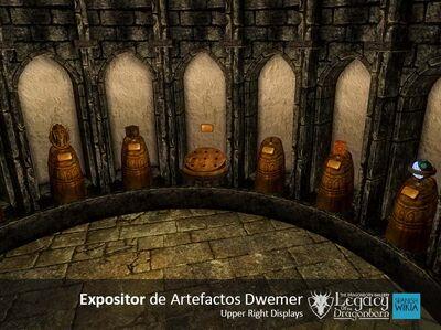 Expositor de Artefactos Dwemer