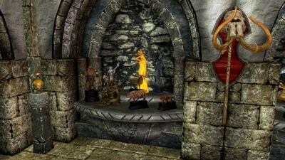 SUT 1st Corner, 1st Statue and 2nd Weapon