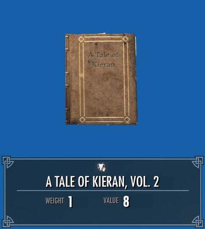 A tale of kieran 2 front