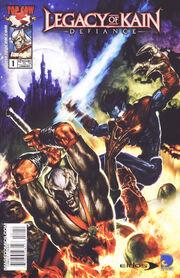 Defiance Comic Cover
