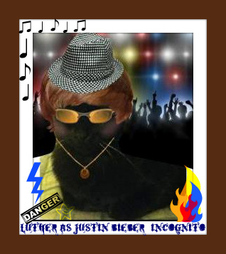 Luther--Justin Bieber incognito makeover