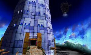 Sol Tower Front Castle Side