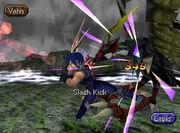 Slash kick 2