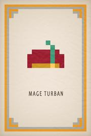 Mage Turban Card