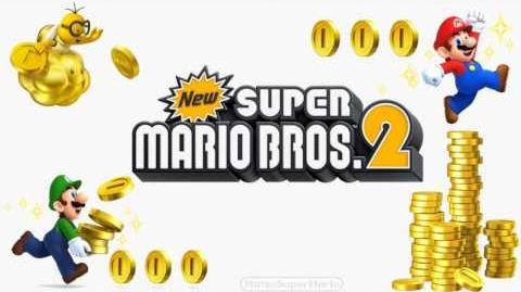 New Super Mario Bros. 2 Mega Mushroom