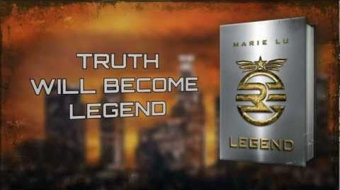 LEGEND book trailer