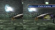 Basilisk uses Petrifying Glare
