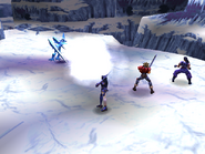 Freeze Knight uses Spear Frost