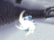 Wildman uses Thunderbolt