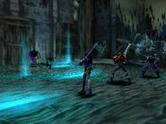 Magician Bogy uses Black Bats on Rose