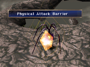 Spider Urchin uses Physical attack barrier