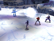 Freeze Knight uses Fatal Blizzard
