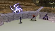 Death Purger uses Lightning Punisher