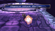 Aqua King uses Physical Attack Barrier
