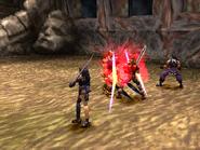 Berserker attacking 2