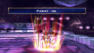 Aqua King uses Power Up