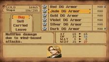 Jade Dragon Armor in Store