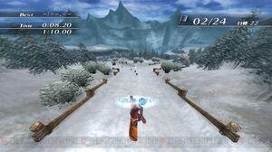 Kiseki2 snowboard minigame