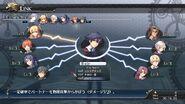 Character link status sen