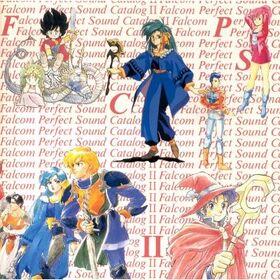 Falcom perfect sound catalog 1 cover