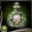 Green Perfume Bottle EX