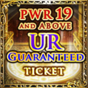 19-PWR & Up UR Ticket