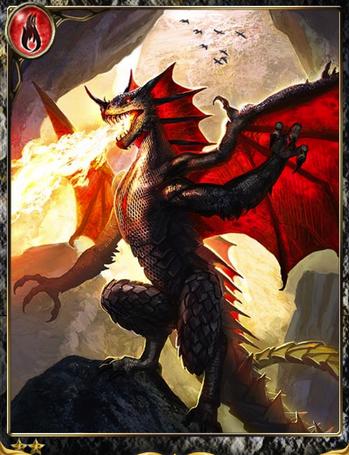 (Grudge) Sullen Vampire Dragon