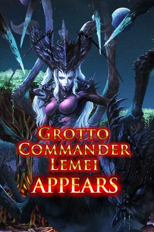 Grotto Commander Lemei Appears
