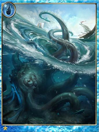Legendary Giant Octopus